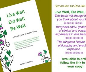 Live well, eat well, be well
